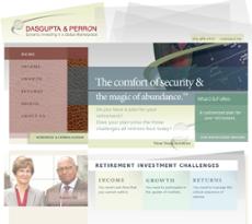 Dasgupta & Perron website history