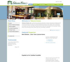 Talavera Homes website history