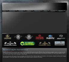 Craig Zinn Automotive Group website history
