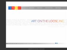Art on Loose website history