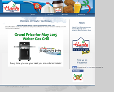 Handy Foods website history
