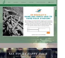 E.R. Bradley's Saloon website history