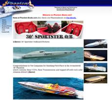 Phantom Boats website history