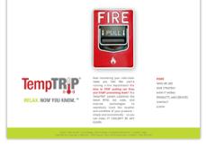 TempTRIP website history