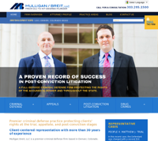 Mulligan Breit website history