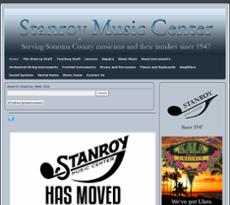 Stanroy Music Center website history