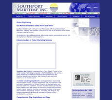 Southport Maritime website history