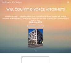 Andreano & Lyons website history