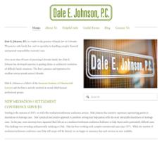 Dale E. Johnson website history