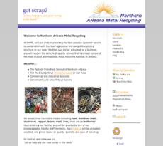 Northern Arizona Metal Recycling website history