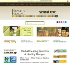 Healthy Healing website history