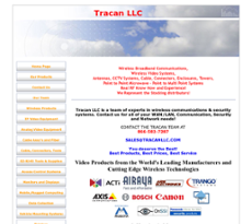 Tracan website history