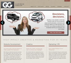 Gammon Group website history