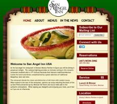 San Angel Inn website history