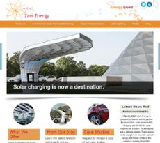 Zam Energy website history