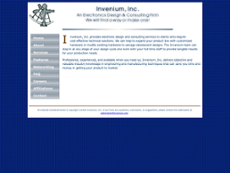 Invenium website history