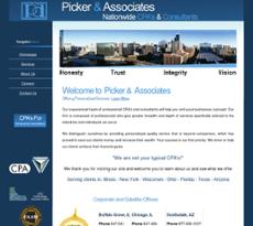 Picker & Associates CPA's website history