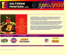 Saltzman Printers website history