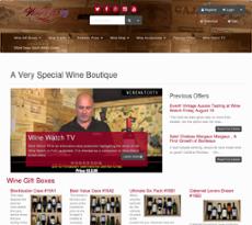 Wine Watch website history