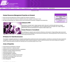 Outsourcing Solutions website history