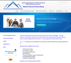 Reach Summit Consulting website history