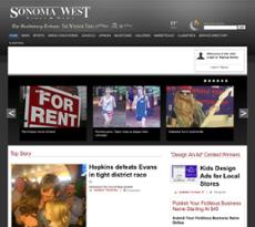 Sonoma West website history