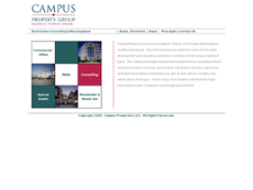 Campus Property website history