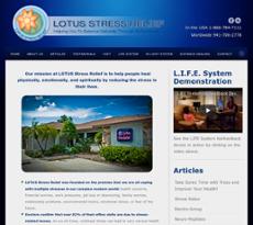 Lotus Stress Relief website history