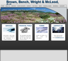 Brown, Bench, Wright & McLeod website history