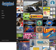 Designland website history