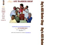 Ray's ASU Barber Shop website history