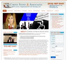 Corfee Stone & Associates website history