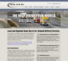 Elite Logistics website history