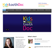 Kids Tooth Doc website history