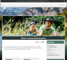 Mountain Wealth Management website history