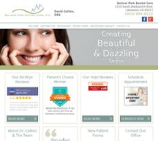 Belmar Park Dental Care website history