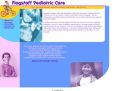Flagstaff Pediatric Care website history