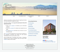 Haskins & Associates PC website history