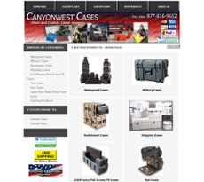 Canyonwest Cases website history