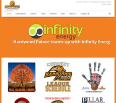 Hardwood Palace website history