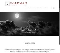 Volkman Insurance Agency website history