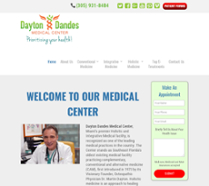 Daytons Medical Center website history