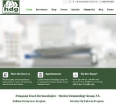 Hecker Dermatology Group website history