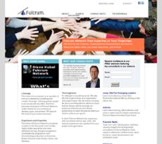 Fulcrum Network website history