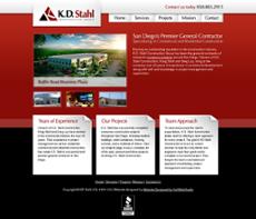 K.D. Stahl Construction website history