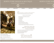 Robyn Story Designs website history