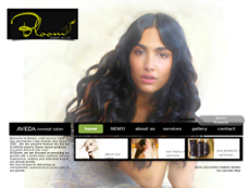 Bloom Salon and Spa website history
