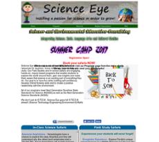 Science Eye website history