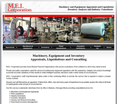 M.E.I website history