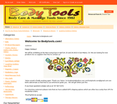 Bodytools website history